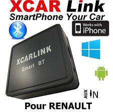 XCARLink Smart BT RENAULT Twingo,Clio,Megane,Laguna,Scenic,Trafic,Master,Kango