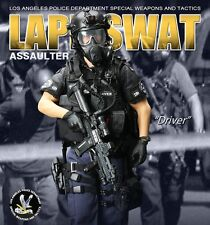 "DID LAPD Police SWAT 1/6 Scale 12"" Assaulter Driver Action Figure MA1001 mib"