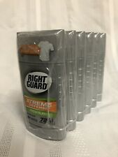 6 Pack RIGHT GUARD Xtreme Defense Antiperspirant Deodorant Stick 2.6 oz