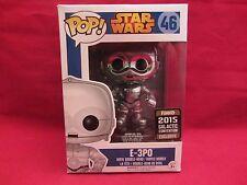 Funko Pop! E-3PO Star Wars 2015 Galactic Convention  #46 Vinyl Figurine (216HP)