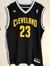 99a1e6ac2dd8 adidas NBA Jersey Cleveland Cavaliers Lebron James Black Alt Sz L