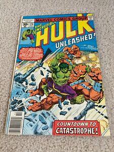 Incredible Hulk  216  Fine  6.0  The Bi-Beast  Doc Samson  General Ross