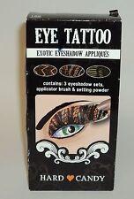 HARD CANDY Eye Tattoo Exotic Eyeshadow Appliques 3 Different Sets NIB