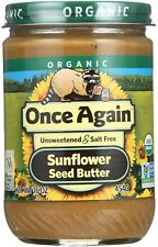 Once Again Organic Sunflower Seed Butter 16 oz (Pack of 6)