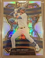 2020 PANINI SELECT KRIS BRYANT CHICAGO CUBS SILVER PRIZM!