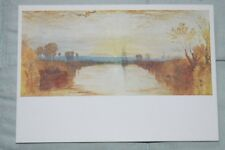 J. M. W. Turner, Vintage Colour Postcard - Chichester Canal