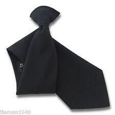 MATT BLACK guardia di sicurezza o Bouncer Clipper Clip Su SNAPPER Cravatta uniforme