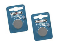 2pc Rayovac CR1620 Battery 3v Lithium Coin Cell 1620 DL1620 ECR1620 L08 UK