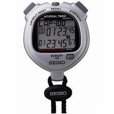 SEIKO S057 - 100 Lap Memory Dual Timers - Gray