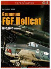 *Grumman F6F Hellcat F6F-3, F6F-5 models Kagero Topdrawings