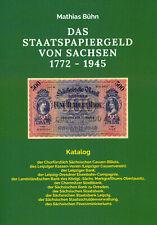 Katalog DAS STAATSPAPIERGELD VON SACHSEN 1772 – 1945 – 1. Auflage 2020