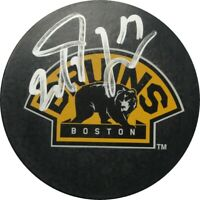Milan Lucic Hand Signed Autographed NHL Hockey Puck Boston Bruins UDA