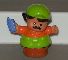 Fisher Price Current Little People Man with Phone FPLP Dad