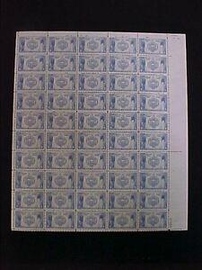 U.S: MINT #794 5¢ NAVY ANNAPOLIS MINT SHEET/50 NH OG
