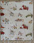 Fabler Design Ikea Crib Duvet Cover & Insert Silke Leffler Whimsical Animals