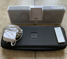 Logitech MM50 Ipod Classic Dock With Case & Remote Working