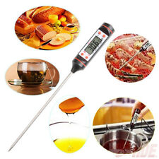 Kitchen Accurate Read LCD Cooking Food Thermometer Probe Jam Milk Temp Detector