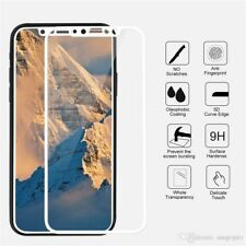 100% Genuine Tempered Glass Film Screen Protector 5D For Apple iPhone X 10 White