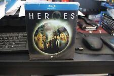Heroes - Season 2 (Blu-ray, 2008, 4-Disc Set) New