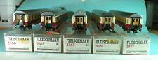 Fleischmann HO Konvolut TEE Personenwagen 5160, 5161, 5163, 5165, 5191 mit OVP