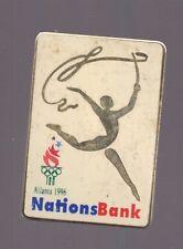 1996 Atlanta Nations Bank Rythmic Gymnastics Olympic Pin