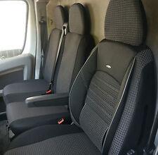 Piel sintética fundas para asientos Volkswagen Crafter funda del asiento 1+2 ya referencias ya referencia