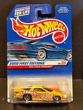 2000 Hot Wheels #064 First Editions 4/36 Pro Stock Firebird - Yellow - 24368
