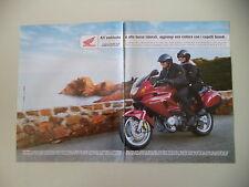 advertising Pubblicità 1999 MOTO HONDA DEAUVILLE