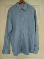 Armani Exchange LONG SLEEVE SHIRT Large Blue