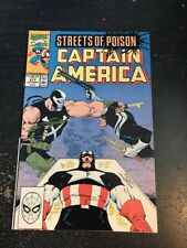 Captain America#377 Incredible Condition 9.0(1990) Crossbones Vs Bullseye!!