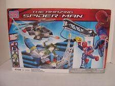 Mega Bloks Amazing Spider-Man  #91351 Oscorp Tower Battle 414 Pcs BNIB Sealed