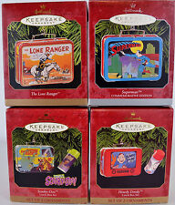 Hallmark Lunchbox Scooby Howdy Doody Superman Lone Ranger Lot of 4 Ornaments
