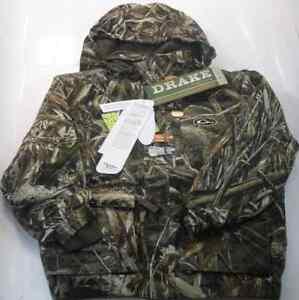 Drake Waterfowl DW2970-015-12 Youth Lst 3N1 Plus 2  Wader Coat Max5 Sz 12