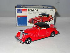 TOMICA JAPAN PACKARD COUPE ROADSTER 1/72  -  F52 boxed