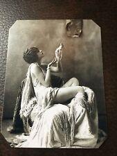J.Edwards Original Ziegfeld Alfred Cheney Johnston Girl tintype C094RP