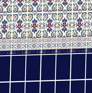 Dolls House Victorian Wallpaper Kitchen Bathroom Quality Matte Paper #25