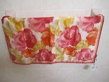 NWT COACH 83515 Ash Floral Print 100% SILK Neck Scarf 27x27