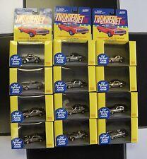Johnny Lightning Thunder Jets 500 Gold Chrome Sets (12)