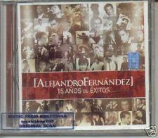 ALEJANDRO FERNANDEZ 15 AÑOS DE EXITOS SEALED CD NEW