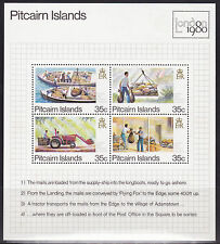 1980 Pitcairn Island London 1980 -  MUH Mini Sheet