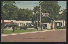 Postcard Lake City Florida/Fl Mid-Town Motel Motor Court view