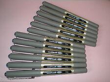 12x Faber-Castell Uniball eye fine schwarz 148199 UB-157 Tinten-Kugelschreiber