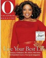NEW Hardcover BOOK: OPRAH'S LIVE YOUR BEST LIFE from THE OPRAH 'O' MAGAZINE,2005