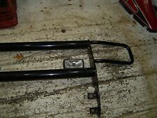 1986 Ford Bronco front push bar with Fog light not bent