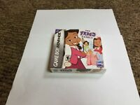 The Proud Family  (Game Boy Advance, 2005) new