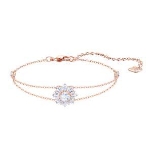Swarovski Crystal Clear Sunshine Bracelet rose gold