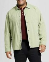 NWT 5XL Tall Goodfellow & Co Men's Big & Tall Military Coach Jacket Pioneer Sage