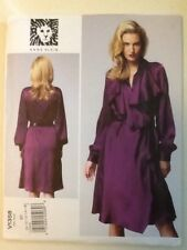 Vogue Pattern V1358 Size 8-10-12-14-16 Anne Klein Misses Dress Uncut