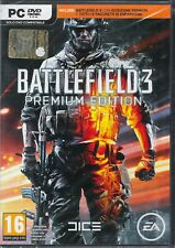 PC DVD-ROM BATTLEFIELD 3 PREMIUM EDITION NUOVO SIGILLATO IN ITALIANO (L7A)