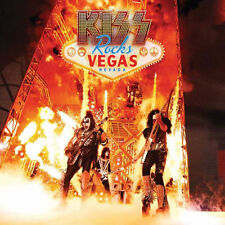 KISS - KISS ROCKS VEGAS (Gatefold Double LP Vinyl with DVD) - Sealed